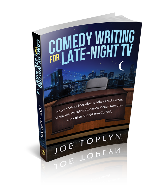 comedy writing for late night tv pdf Virtual writing room: comedy pilot - online this course is your opportunity to step into a virtual writing room led by an experienced script writer and collaborate with a talented group of aspiring writers to get your script, pilot-ready  online writing for late night tv and talk shows 1 sep 23 - nov 11.