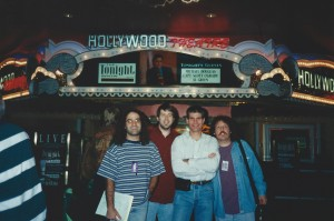 "Joe Toplyn with other ""Tonight Show with Jay Leno"" writers in Las Vegas"