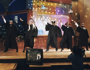 "The Dancing Itos on the ""Tonight"" show"