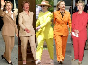 Hillary Clinton's pantsuits