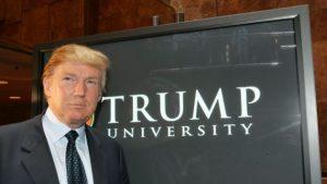 Trump University sign