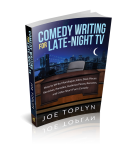 """Comedy Writing for Late-Night TV"" book"