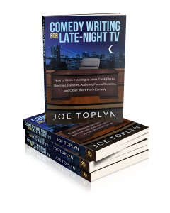 "The book ""Comedy Writing for Late-Night TV"""
