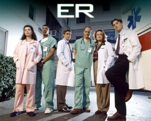 "Cast of NBC's ""ER"""