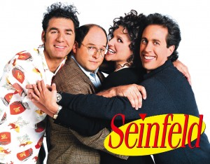 "The cast of ""Seinfeld"""