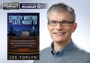"Joe Toplyn on ""Pop Culture Tonight"""