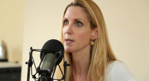 Ann Coulter at mike